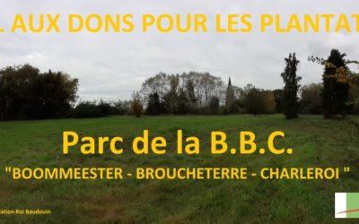 APPEL AUX DONS : Parc de la B.B.C. à Charleroi